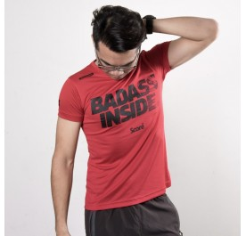 Active Wear - Red - Badass Inside