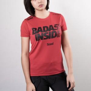 Active Wear - Red - Badass Inside