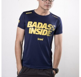 Active Wear - Dark Blue - Badass Inside