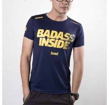 Active Wear - Dark Blue - Badass Inside