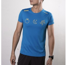 Active Wear - Blue - Eat, Sleep, Run