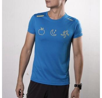 Active Wear - Blue - Eat, Sleep, Run