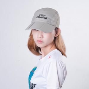 Sports Cap - Grey - Keep Running