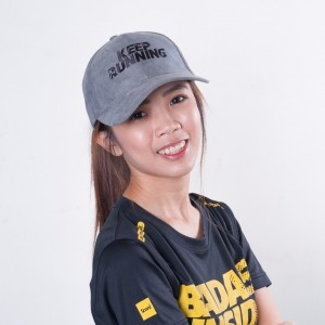 Baseball Cap - Dark Grey - Keep Running