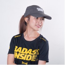 Sports Cap - Dark Grey - Badass Inside