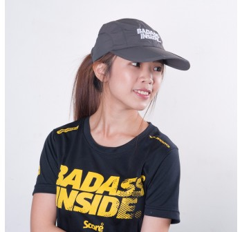 Sports Cap - Dark Grey - Badass Inside
