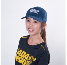 Baseball Cap - Dark Blue - Badass Inside