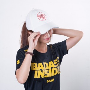 Baseball Cap - White - Beast Mode On