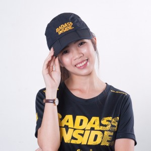 Sports Cap - Black - Badass Inside