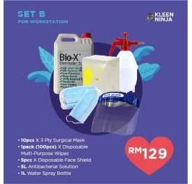 Disinfectant Kit - Set B