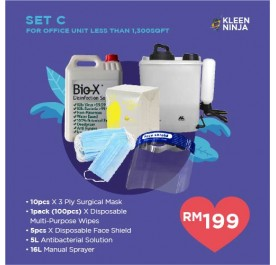 Disinfectant Kit - Set C