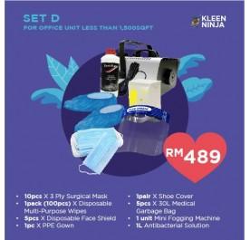 Disinfectant Kit - Set D