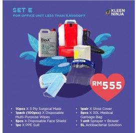 Disinfectant Kit - Set E