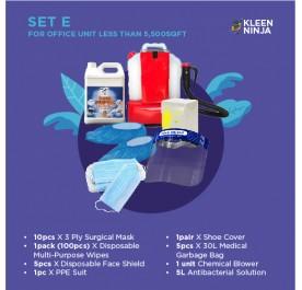 Disinfectant Kit - Set E