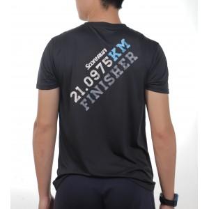 Active Wear - Black - Score Run (Day) Edition - 21 KM Edition Event
