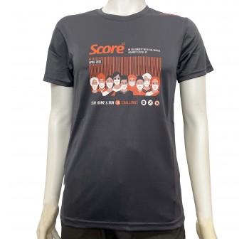 Active Wear - Black - Score Stay Home & Run - Virtual Run Edition Event