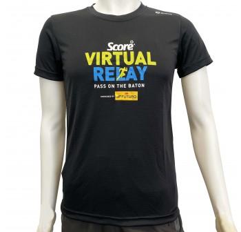Active Wear - Black - Score Virtual Relay - Virtual Run Edition Event