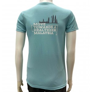 Active Wear - Turquoise Green - Score Step Walk Run - Virtual Run Edition Event