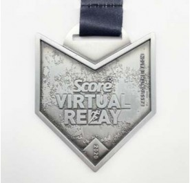 Virtual Run Medal - Score Virtual Relay 2020 - Finisher Medal - Edition Event