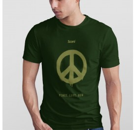 Active Wear - Dark Green - Peace Love Run