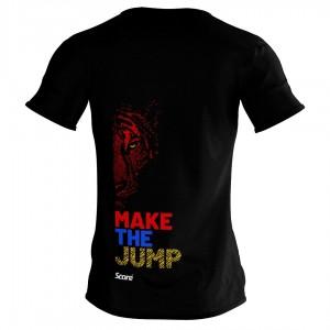 Active Wear - Black - Jump For Malaysia Harimau Tee